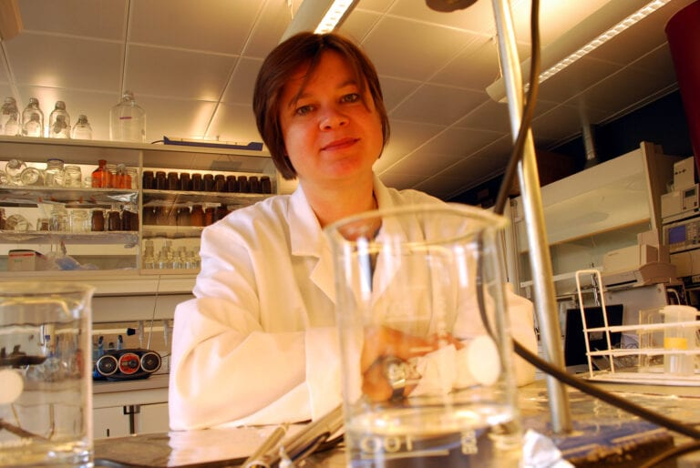 Dorte Herzke. Norwegian Institute of Air Research. Photo: Helge M. Markusson