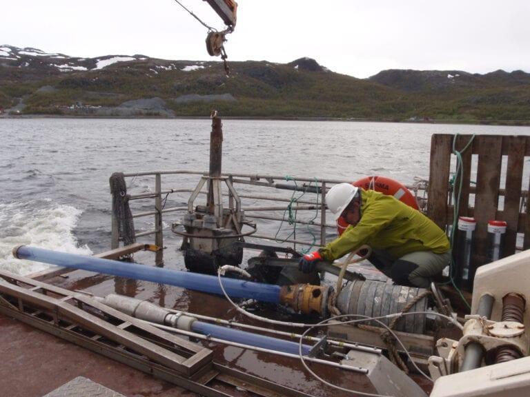 Field work Repparfjorden FIMITA