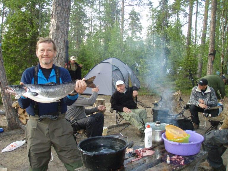 laksefiske Kola 2011