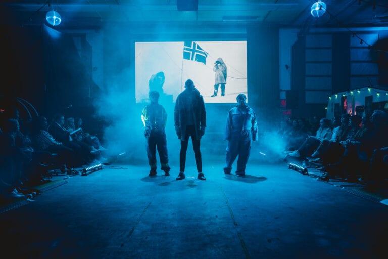 Moteshow - Amundsen og forskere