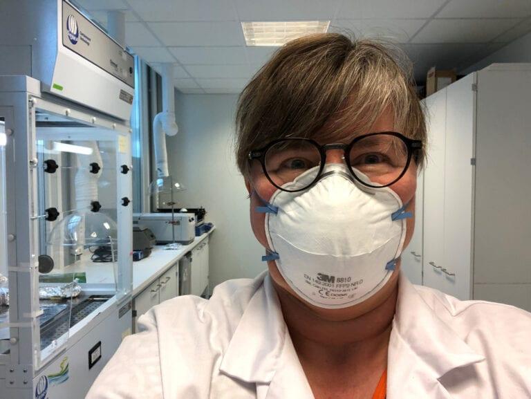 Linda Hanssen lab corona