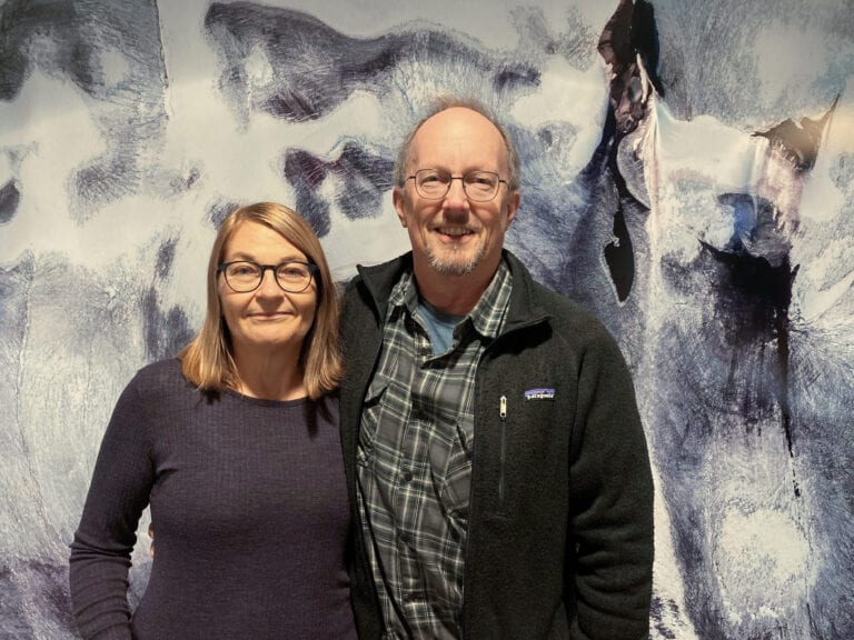 Elisabeth og Jack, foto Elin Vinje Jenssen, Norsk Polarinstitutt
